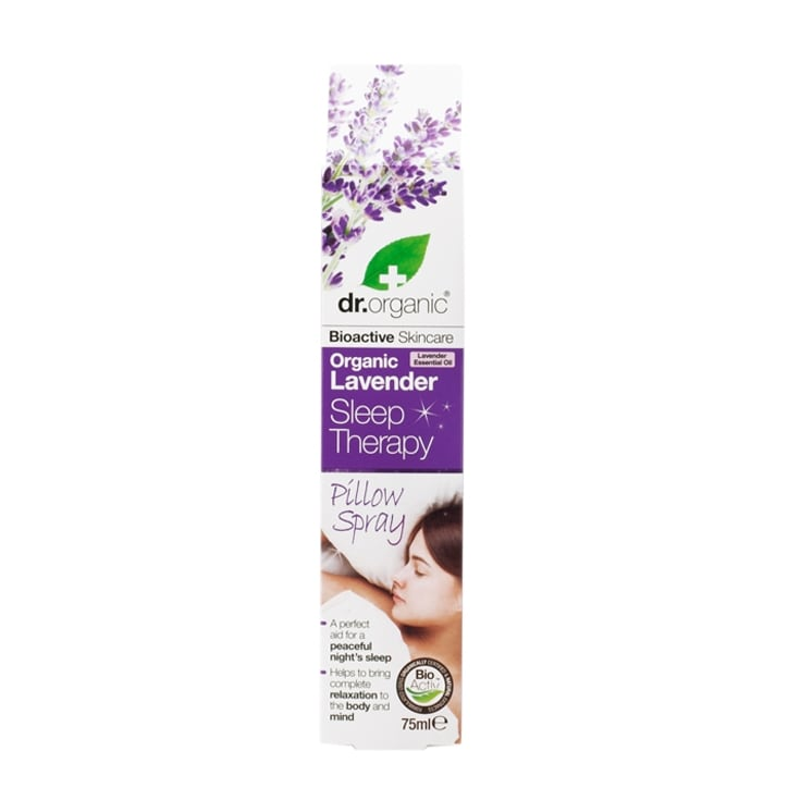 Dr Organic Lavender Sleep Therapy Pillow Spray 75ml