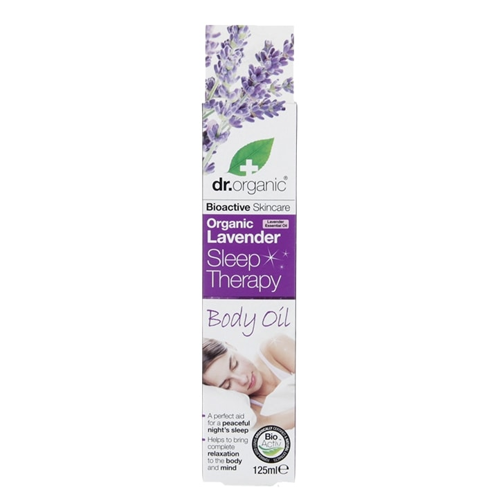 Dr Organic Lavender Sleep Therapy Body Oil 125ml
