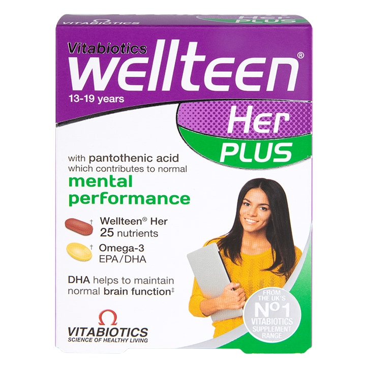 Vitabiotics Wellteen Her Plus