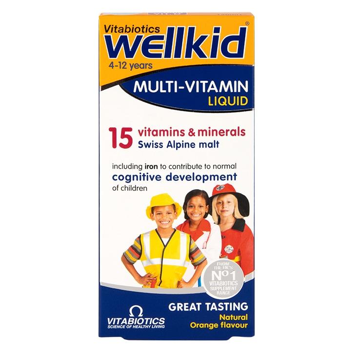 Vitabiotics Wellkid Multivitamin Liquid