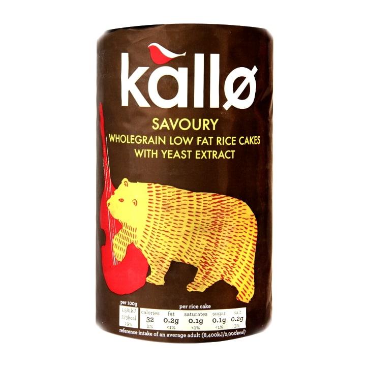 Kallo Organic Savoury Rice Cakes