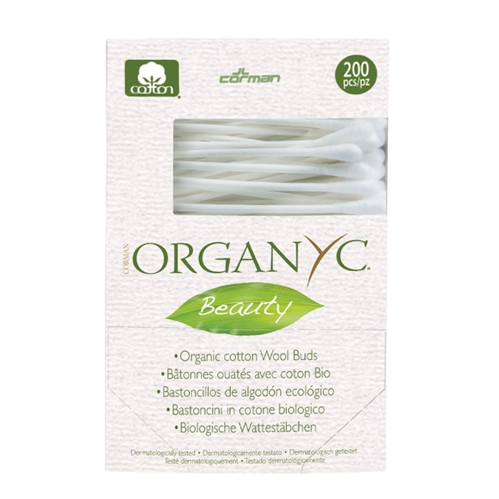 Organyc Beauty 200 Organic Cotton Buds