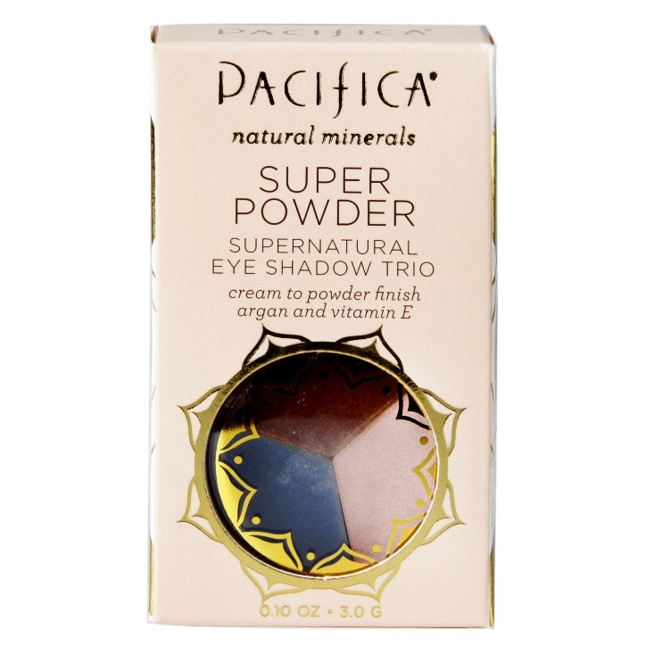 Pacifica Super Powder Supernatural Eye Shadow Trio Cool