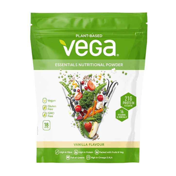 Vega Essentials Nutritional Powder Vanilla 612g