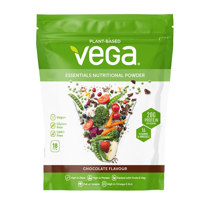 Vega Essentials Nutritional Powder Chocolate 648g