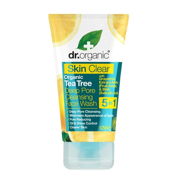 Dr Organic Skin Clear Deep Pore Face Wash