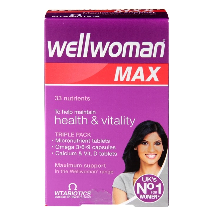 Vitabiotics Wellwoman Max 84 Tablets
