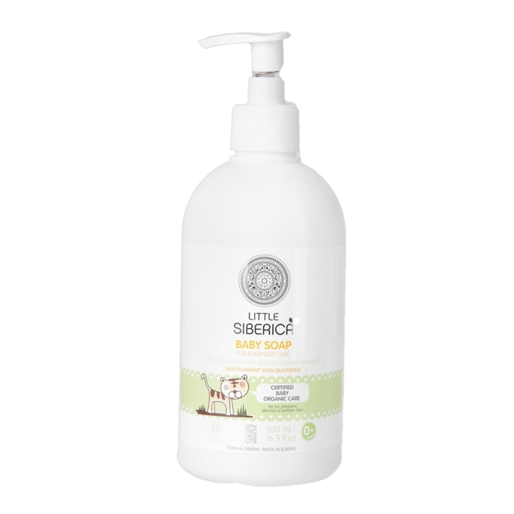 Little Siberica Baby Soap for Everyday Care 500ml