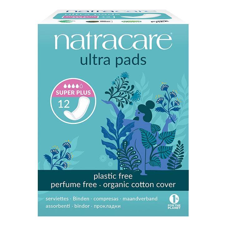 Natracare Natural Organic Ultra Pads Super Plus 12 Pads