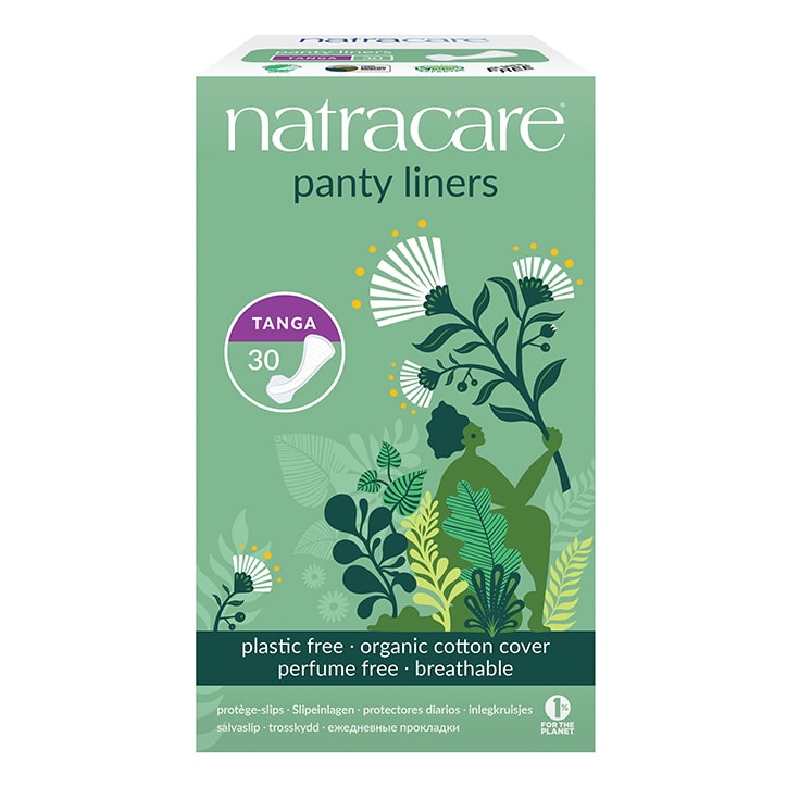 Natracare Natural Organic Panty Liners 30 Tanga