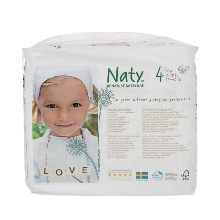 NATY Nature Baby Nappies Size 4
