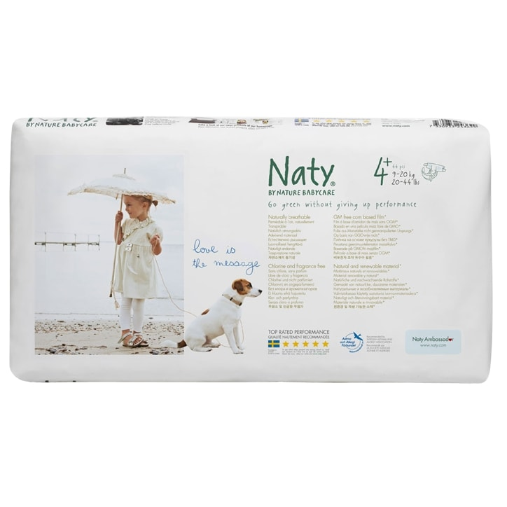 NATY Nature Baby Nappies (Economy Pack) size 4+