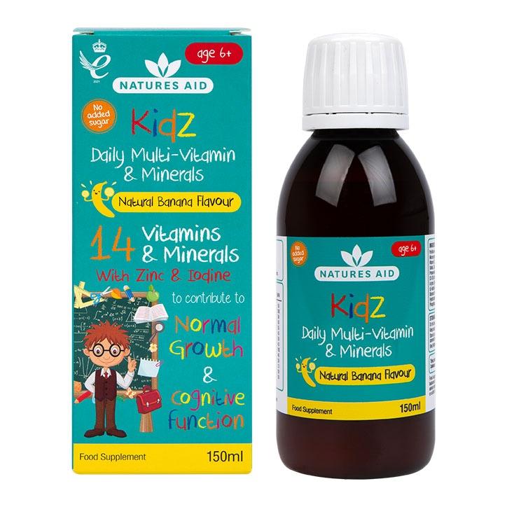 Nature's Aid Kidz Multivitamin Liquid 150ml
