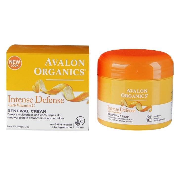 Avalon Organics Intense Defense Renewal Cream 50ml