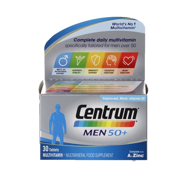 Centrum Men 50+ Multivitamin Tablets