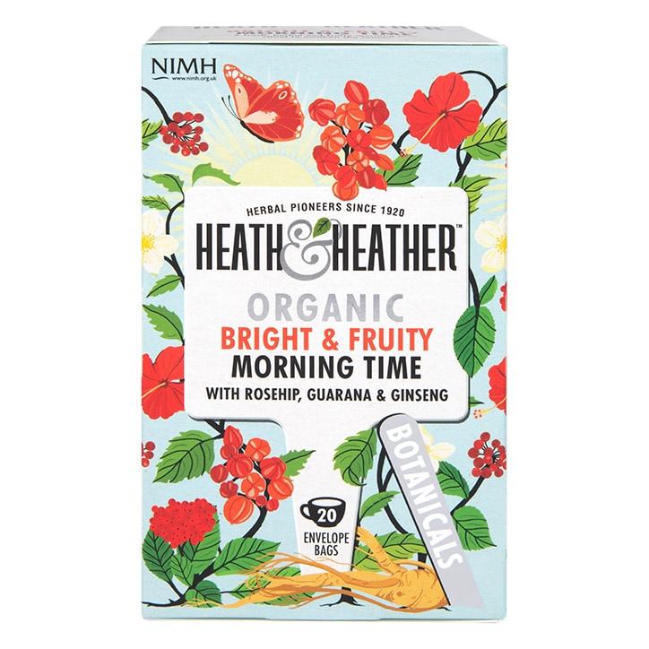Heath & Heather Organic Morning Time 20 Tea Bags