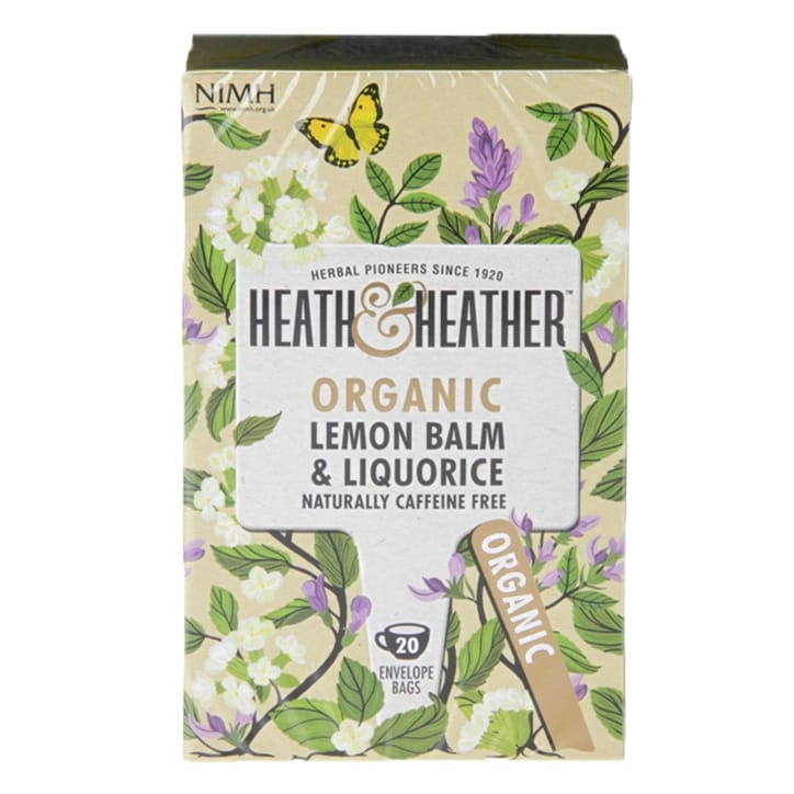 Heath & Heather Organic Lemon Balm & Liquorice Tea