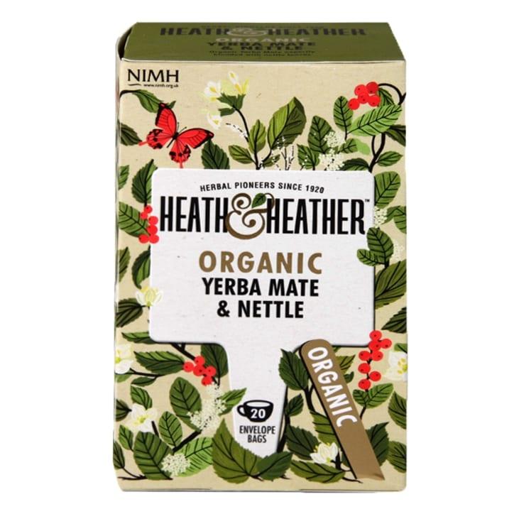 Heath & Heather Organic Yerba Mate & Nettle 20 Tea Bags