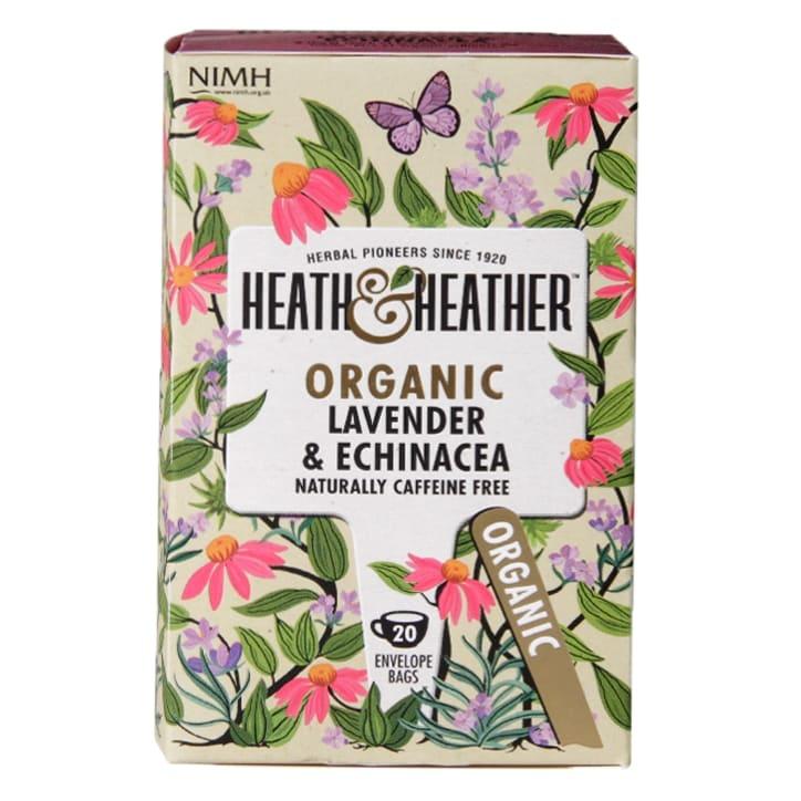 Heath & Heather Organic Lavender & Echinacea Tea