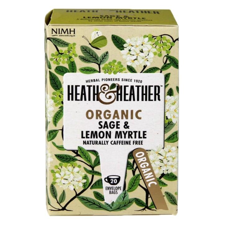 Heath & Heather Organic Sage & Lemon Myrtle Tea