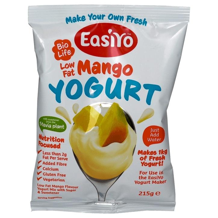 Easiyo Low Fat Yogurt Mango 215g