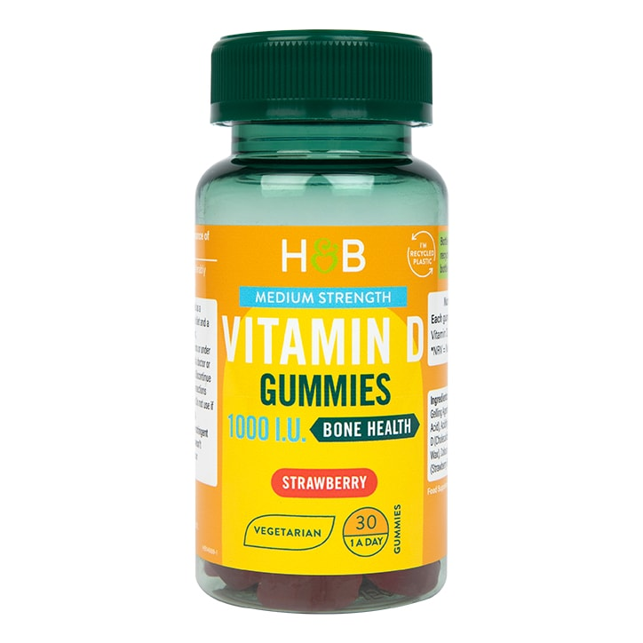 Holland & Barrett Vegetarian Vitamin D 25ug 30 Gummies