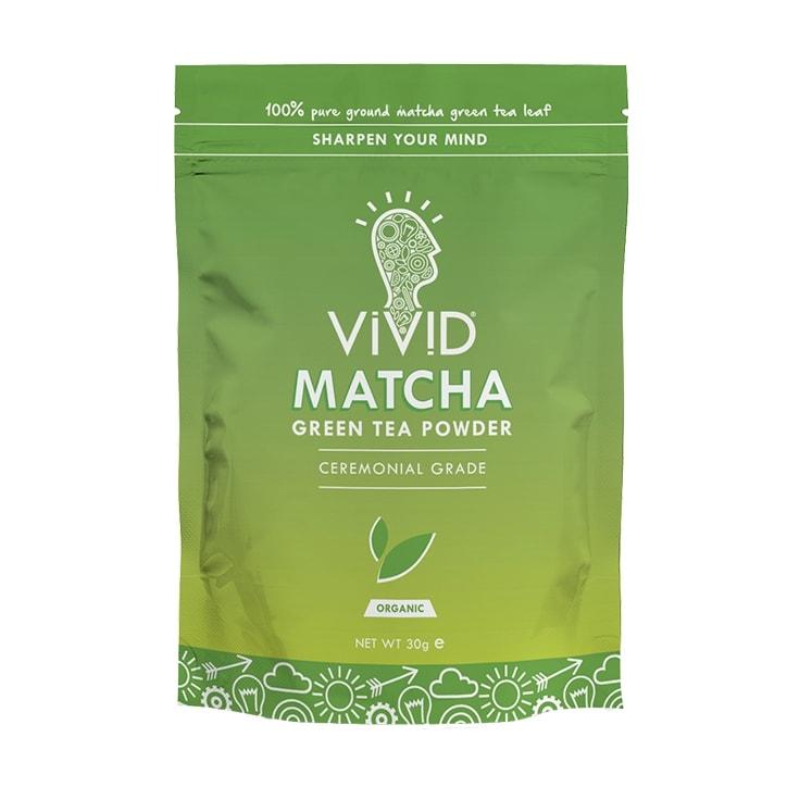 Vivid Organic Matcha Green Tea Powder 30g Pouch