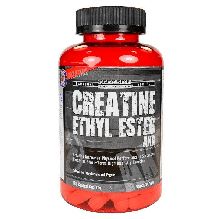 Precision Engineered Creatine Ethyl Ester AKG 180 Caplets