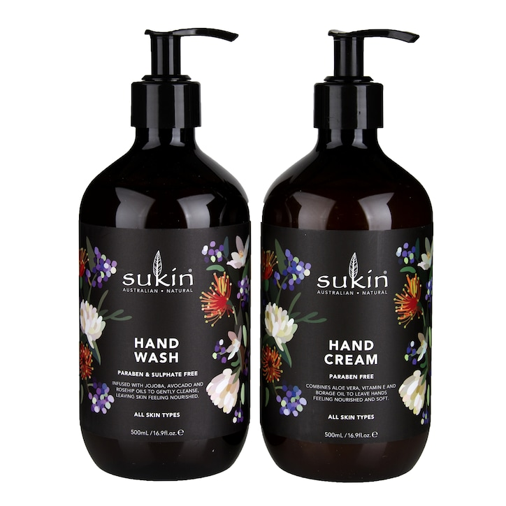 Sukin Hand Wash & Hand Cream