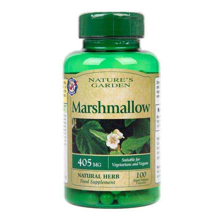 Nature's Garden Marshmallow 100 Capsules 405mg