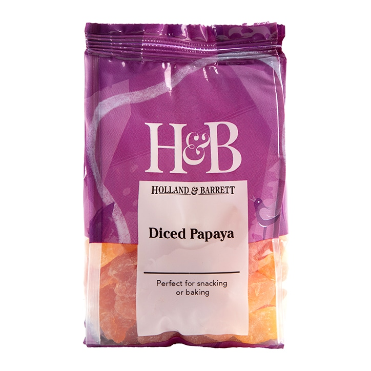 Holland & Barrett Diced Papaya 125g