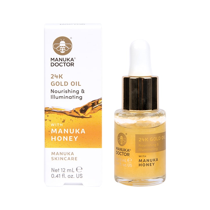 Manuka Doctor 24K Gold & Manuka Honey Face Oil