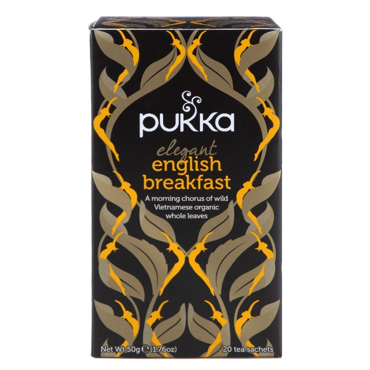 Pukka Elegant English Breakfast Tea 20 Tea Sachets