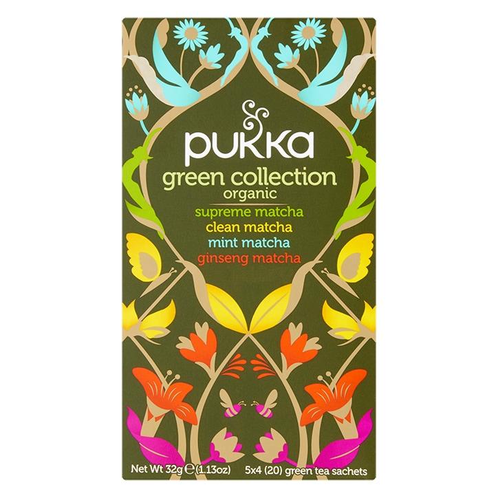 Pukka Green Collection 20 Green Tea Sachets