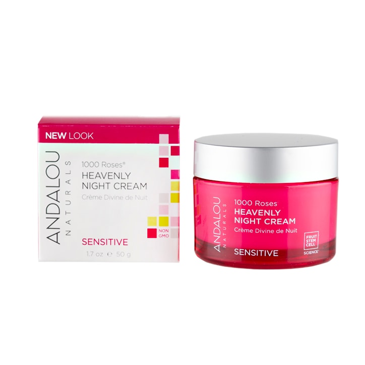 Andalou 1000 Roses Heavenly Night Cream