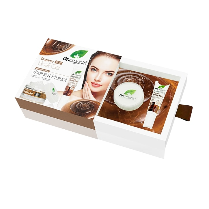 Dr Organic Snail Gel Soothe & Protect Gift Pack