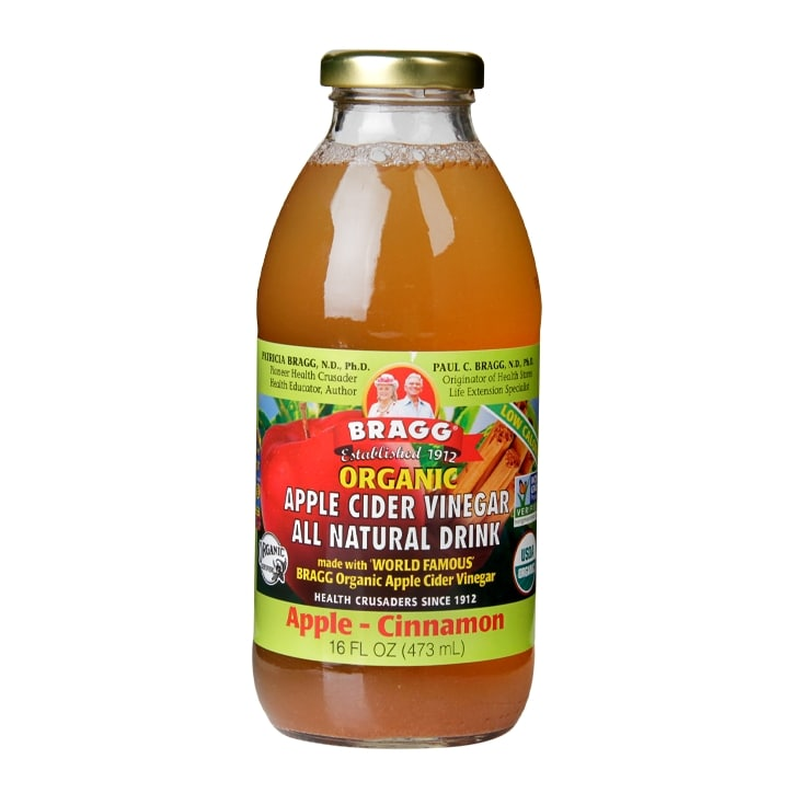 Bragg Ready To Drink Apple Cider Vinegar Apple Cinnamon 473ml