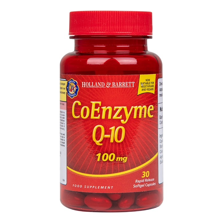 Holland & Barrett CoEnzyme Q-10 30 Capsules 100mg