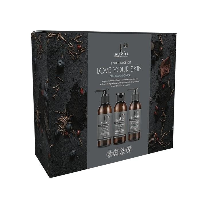 Sukin Love Your Skin Oil Balancing Gift Set