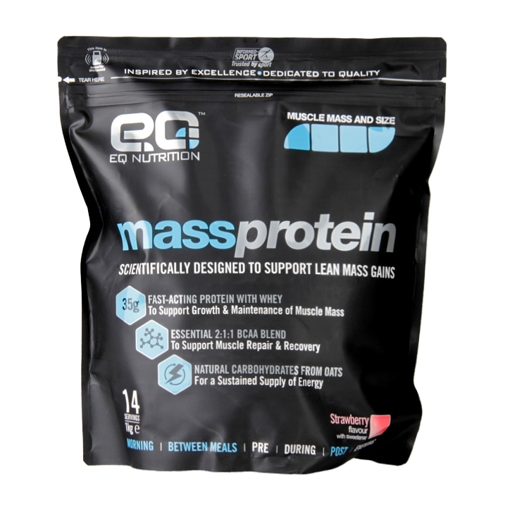 EQ Nutrition Mass Protein Strawberry