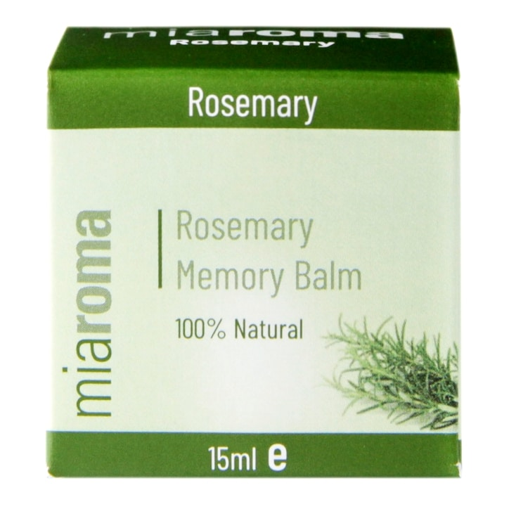 Miaroma Invigorating Rosemary Memory Balm 15ml