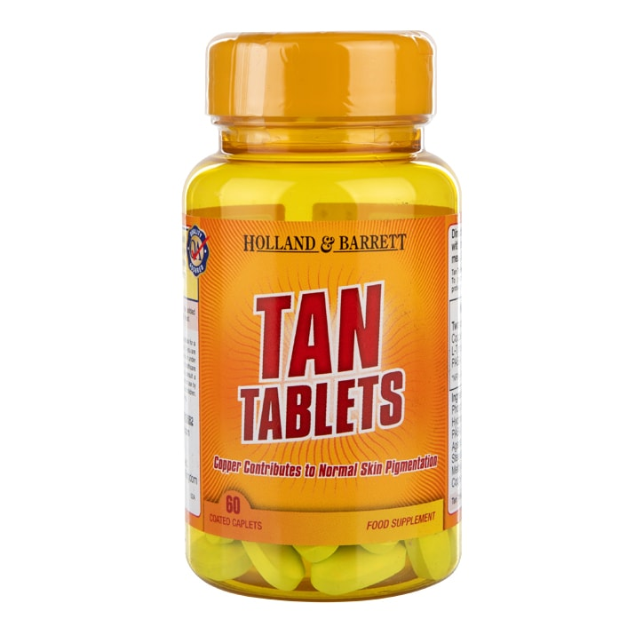 Holland & Barrett Tan Tablets 60 Caplets