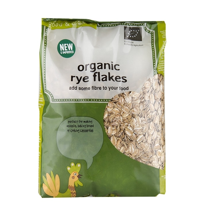 Holland & Barrett Rye Flakes 500g