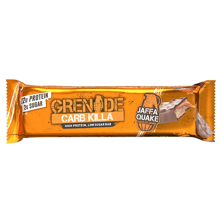 Grenade Carb Killa Bar Jaffa Quake 60g