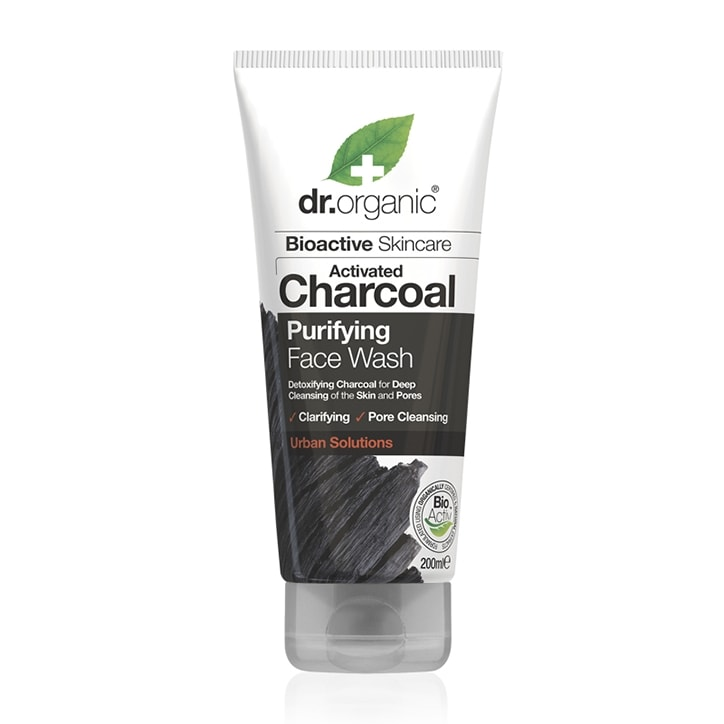 Dr Organic Charcoal Face Wash