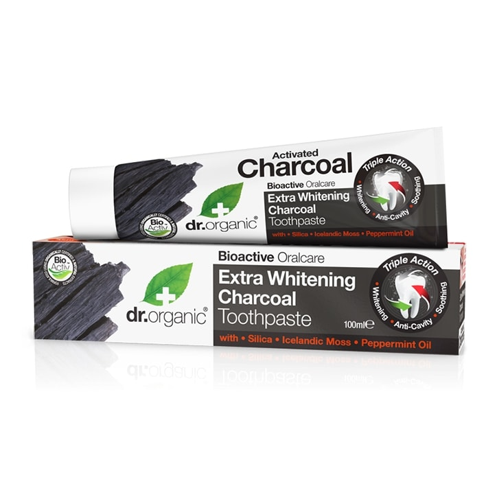Dr Organic Charcoal Toothpaste