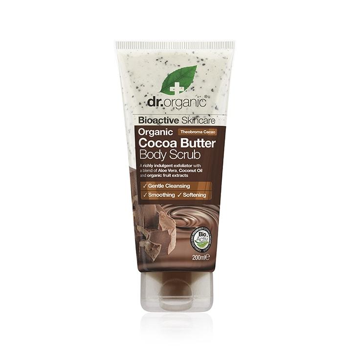 Dr Organic Cocoa Butter Body Scrub