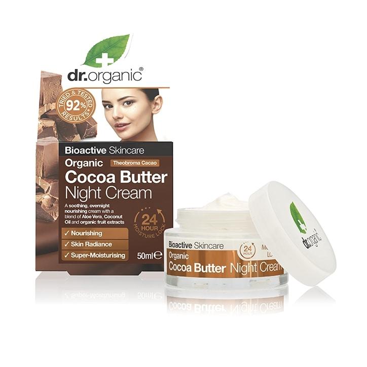 Dr Organic Cocoa Butter Night Cream