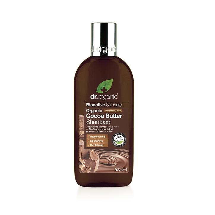 Dr Organic Cocoa Butter Creamy Shampoo