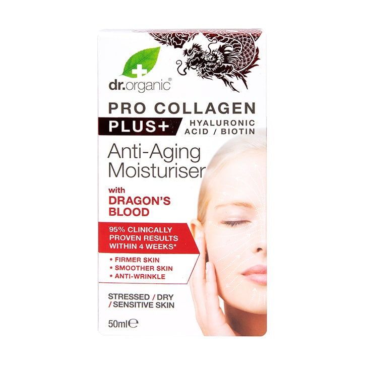 Dr Organic Pro Collagen Plus Dragons Blood 50ml